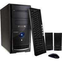 Computador Desktop Pc Mix L3900 - Preto - Intel Core I7-3770 - Ram 8Gb - Hd 1Tb - Linux