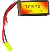 Bateria De Lipo Target 11,1V 1100Mah 20C 1 - Unissex