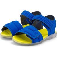 Sandália Infantil Bibi De Luz Azul Funny Light 1027017 30