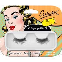 Cílios Postiços - Curvex - Linha Ballad - 02 - Preto