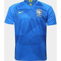 Camisa Seleção Brasil Ii 2018 S/N° - Torcedor Nike Masculina - Masculino