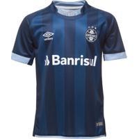 Camiseta Umbro Grêmio Iii 2017/18 Juvenil