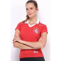 Camiseta Internacional 1992 Feminina - Feminino-Vermelho