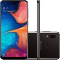 Smartphone Samsung Galaxy A20 32Gb A205 Desbloqueado Preto