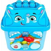 Fisher Price Mega Bloks Balde De Animais Elefante - Mattel - Tricae