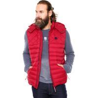 Colete Polo Wear Matelassê Vermelho