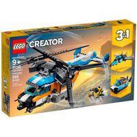 Lego Creator - 3 Em 1 - Helicóptero Com 2 Hélices - 31096 Lego 31096
