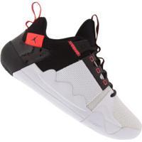 Tênis Nike Jordan Zoom Zero Gravity - Masculino - Branco/Preto