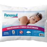Travesseiro Fibra Siliconada 45Cmx65Cm Lavavel Anti Alérgico