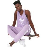 Regata Adidas Originals Trefoil Lilás