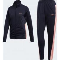 Agasalho Feminino Adidas Wts Plain Tric