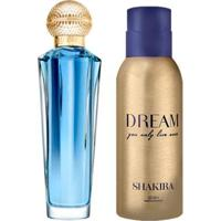 Kit 1 Perfume Dream Shakira Eau De Toilette 80Ml + 1 Desodorante Dream 150Ml - Unissex-Incolor
