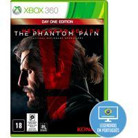 Jogo Metal Gear Solid V: The Phantom Pain Para Xbox 360 (X360) - Konami