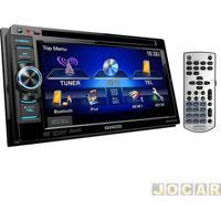 """Dvd Player - Kenwood - Tela 6"""" Com Iluminação De Led E Bluetooth - Cada (Unidade) - Ddx-3071Bt"""