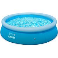 Piscina Bel Fix Life 4600L Filtro 220V Azul
