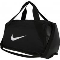 Mala Nike Brasilia Duffel Small - 40 Litros - Preto/Branco