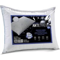 Travesseiro Antistress Branco - 50Cm X 70Cm Branco