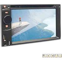 Dvd Player - Dazz - 6.2 Polegadas/Bluetooth/Usb/Sd/ Tv Digital - Cada (Unidade) - Dz-5221-6