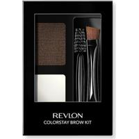 Paleta Para Sobrancelhas Revlon Colorstay Brow Kit Dark Brown - Unissex-Incolor