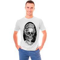 Camiseta Shop225 Rainha Caveira Branca