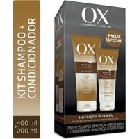 Kit Ox Nutrição Intensa Shampoo 400Ml + Condicionador 200Ml