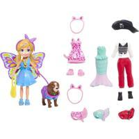 Polly Pocket Kit Cachorro Fantasias - Mattel - Kanui