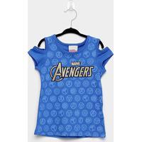 Blusa Infantil Brandili Avengers Feminina - Feminino