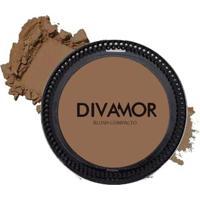 Blush Compacto Divamor 7G - Terracota - Unissex-Incolor