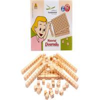 Material Dourado 62 Peças Em Caixa Cartonada - Fundamental - Kanui