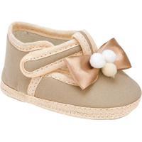 Sapato Com Laã§O- Caqui & Bege- Griffgriff