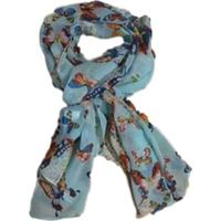 Echarpe Atelier Chilaze Papillon Azul