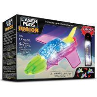 Blocos De Montar Laser Pegs Jatos 3 Em 1 Zippydo Verde