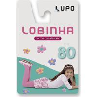 f91d5f6c7 Meia Calça Lupo Lobinha Cotton Ref  2526 Bebê Rosa