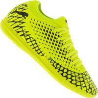 Chuteira Futsal Puma Future 4.4 Bdp It - Adulto - Amarelo Fluor