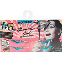 Delineador Adesivo Com Glitter Glamour Girl