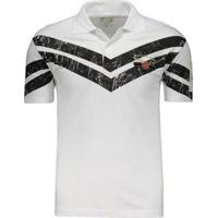 Camisa Polo Infantil Vasco Da Gama Silk Bordado Masculino - Masculino