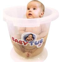 Banheira Babytub - Transparente - Baby Tub - Unissex-Incolor