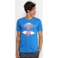 Camiseta Bahia Flag Umbro Masculina - Masculino-Azul