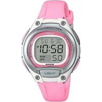 Relógio Feminino Casio Digital Lw-203-4Avdf - Unissex-Rosa