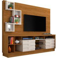 Home Theater Heitor Naturale/Off White Madetec