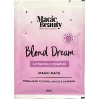Máscara Capilar Sachê Magic Beauty Blond Dream 30G - Unissex-Incolor