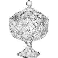 Bomboniere De Cristal Ecológico Weave 18 Cm X 24 Cm - Home Style