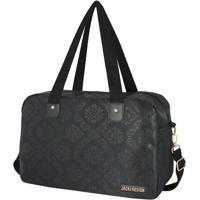 Bolsa Para Viagem Damasco- Preta- 26X40X17Cm- Jajacki Design