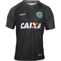 Camisa Goleiro Topper Goiás Oficial Ii 2018 Masculina - Masculino