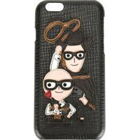 Dolce & Gabbana Capa Para Iphone 6 Com Aplicações - Preto