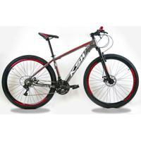 Bicicleta Aro 29 Ksw - 24V - Cambios Index - Unissex
