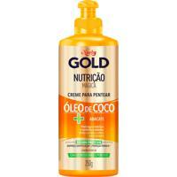 Creme Para Pentear Gold Nutriã§Ã£O Magica ÓLeo De Coco + Abacate 250G - Unico - Dafiti