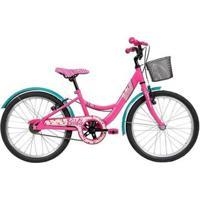 Bicicleta Infanto Juvenil Caloi Barbie Aro 20 - Quadro Aço - Feminino