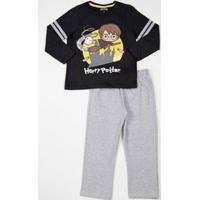Conjunto Infantil Estampa Harry Potter Warner Bros