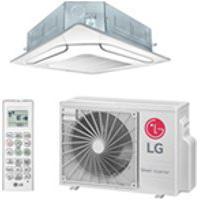 Ar Condicionado Split Cassete Inverter Lg Com 18.000 Btus, Quente E Frio, Branco